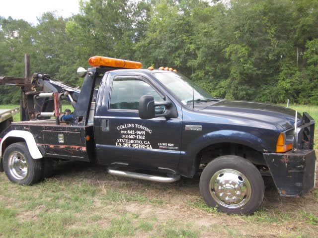 Statesboro Tow Service | Asset Recovery | Roadside Assistance | Collins Towing and Recovery