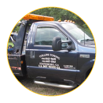 Statesboro Tow Truck | Roadside Assistance | Asset Recovery | Collins Towing