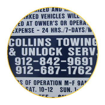 Towing Service Statesboro | Asset Recovery | Vehicle Locksmith | Collins Towing and Recovery